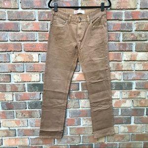 [Levi's] Tan 511 Slim Straight Leg Jeans